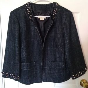 Michael Kors Chain Accented Blazer/Jacket Size 10